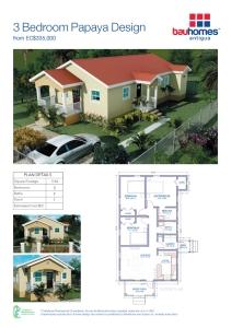 3 Bedroom Papaya DesignV2.indd